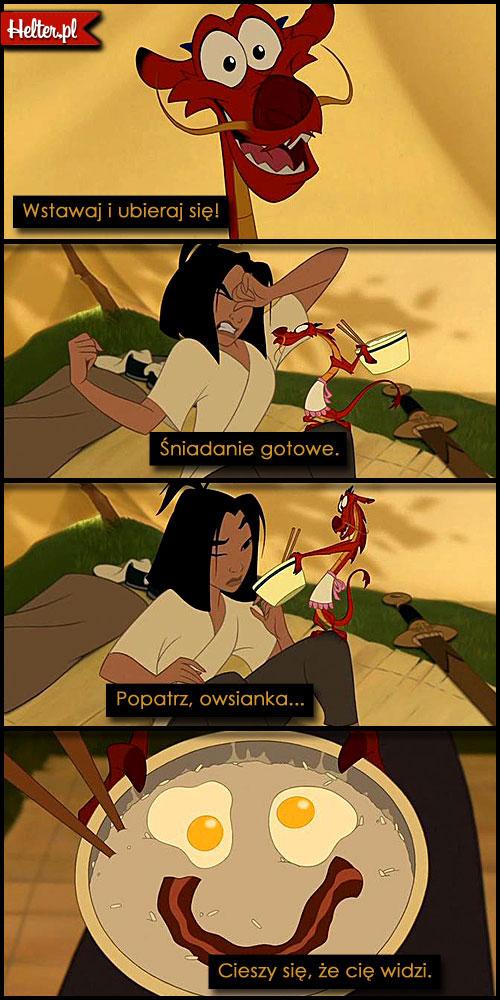 Cytaty Filmowe z Bajki Mulan - Disney HELTER