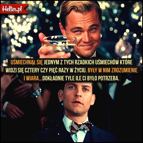 Cytaty z Filmu Wielki Gatsby (2013) Tobey Maguire