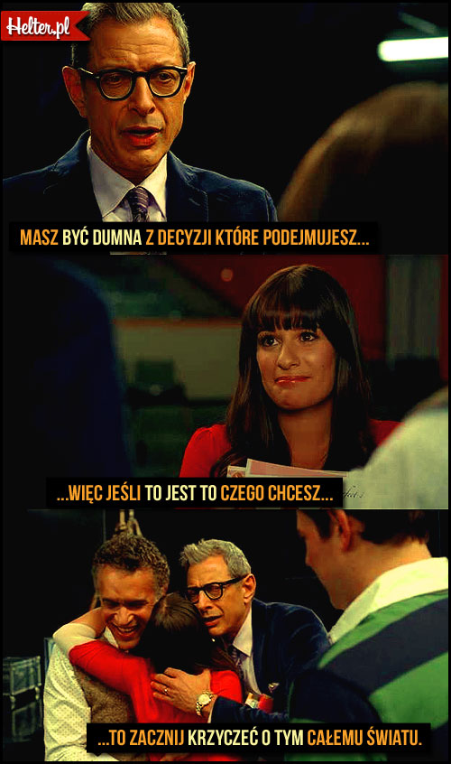 Cytaty Filmowe z Serialu Glee HELTER