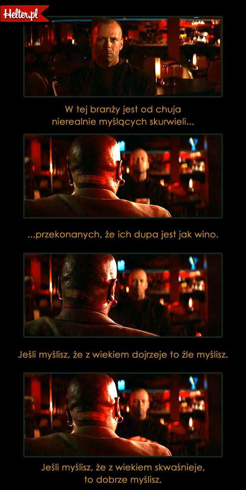 Cytaty Filmowe z Filmu Pulp Fiction Tarantino HELTER