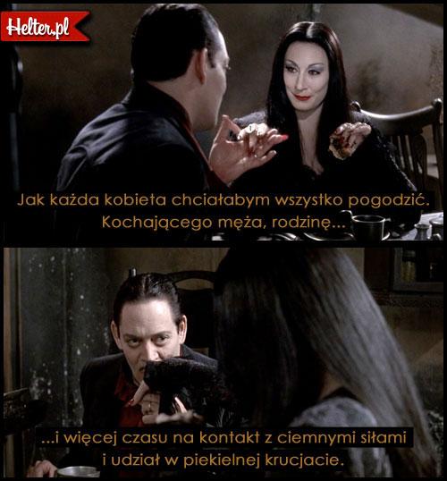 Cytaty Filmowe z Filmu Rodzina Addamsów HELTER