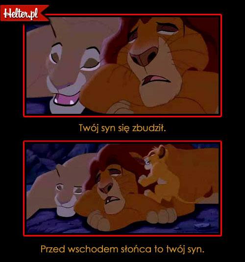 Cytaty Z Bajki Król Lew 1994